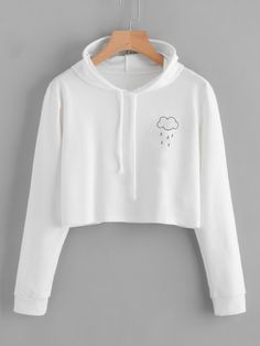 Girls Cute Cat Ear Hoodie Sweatshirts Gold Goat Midriff-Baring Hooded Pullover