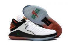 f211281313a6 2018 Real 2018 Air Jordan 32 XXXII Low Gatorade White Pine Green-Black  Jordan Shoes