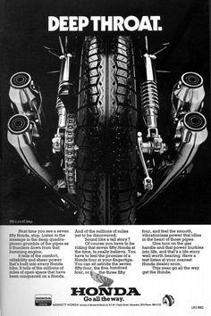 Honda CB750 ad