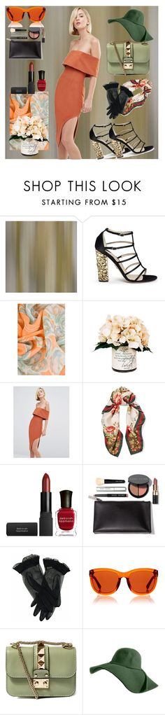 """Untitled #223"" by domla ❤ liked on Polyvore featuring Zoffany, Paul Andrew, Chanel, Creative Displays, Lavish Alice, Gucci, Deborah Lippmann, Bobbi Brown Cosmetics, The Row and Valentino"
