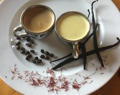 I am preparing for my new recipe is Saffron Vanilla Coconut Vlan with Italian Coffee Espresso Caramel and Gluten Free #luchiachia #luchiacookbook is available on Amazon.com  in English and Spanish #cookbook #chef #cooking is #amazing #beautifull dessert with Natural ingredients #organic Coconut Milk #vanilla Bourbon #saffron #coffee @caffe_bellavita #delicious #yummy #pastrychef #culinary #foodmagazine #truecooks #cheflife #chefconsultant #chefsofinstagram #foodlover #foodblogger #foodblog…