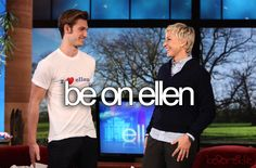 Come on, Ellen! Give me a call