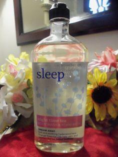 NWT Bath & Body Aromatherapy Sleep Night Time Tea Body Wash & Foam Bath 10 oz. #BathBodyWorks