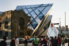 Toronto, Canadá // ROYAL ONTARIO MUSEUM // STUDIO DANIEL LIBESKIND
