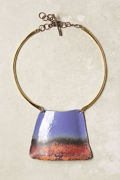 Lavender & Oxide Pendant Necklace - Anthropologie.com