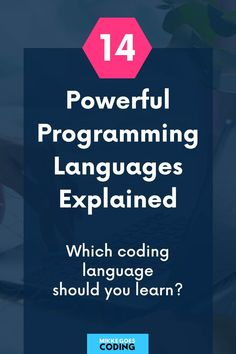 What are the most popular programming languages to learn? If you're new to coding, check out these 14 powerful languages to start learning. Find out what each of them is used for in web development and find the right language to learn to start a career or become a freelancer and make money coding. #mikkegoes List Of Programming Languages, Coding Languages, Learn Programming, Learn Coding Online, How To Make Money, How To Become, Best Online Courses, Learn To Code, Computer Science