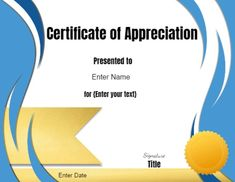 Free printable and customizable Volunteer Certificate of Appreciation. Employee Appreciation Gifts, Certificate Of Appreciation, Volunteer Appreciation, Text Signature, Free Printable Certificate Templates, Employee Recognition, Award Certificates, Volunteer Work, Acrylic Art
