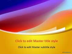 Free Dress Color PPT Template