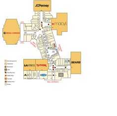 Mall plan I'm using for the Dungeon Raiders set. The guild halls and tavern are in the spot where Macy's is located.