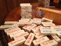 """Speech """"tool"""" Jenga for stuttering!  Use only the blocks that contain tools students have learned. Add more as they know more...use picture or question stimuli depending upon hierarchical level of difficulty for each student."""