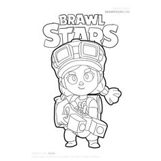 Brawl Stars Archives - Color for fun Star Coloring Pages, Boy Coloring, Coloring For Kids, Boom Beach, Profile Wallpaper, Star Logo, Sailor Moon, Star Art, Monster High