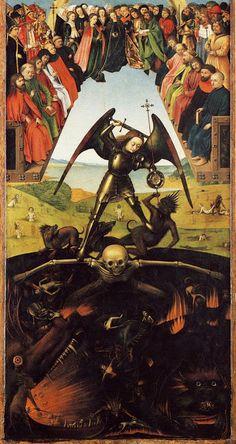 Petrus Christus - The Last Judgement (det.) (1452)