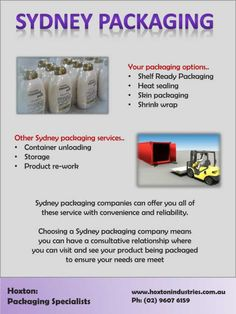 Choosing a Sydney packaging company means you can have a consultative relationship where you can visit and see your product being packaged to ensure your needs are meet   #Sydneypackaging #Containerunloading #SkinPackaging