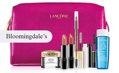 Bloomingdale's offers this free Lancome gift when you spend $55 on Lancome.