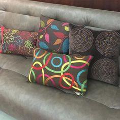 Mais almofadas Rs8900! Presente pra você e sua casa!