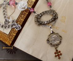 Joan of Arc and the Cross of Lorraine by OldNouveau on Etsy