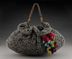 Purse Patterns...The Slouchie..Handbag Knitting Patterns.Knitting Patterns for Purses...free shipping via pdf. $8.00, via Etsy.