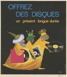 Offrez des disques par Eric, 19..-1… Bibliothèque municipale de Lyon (AffP0308)