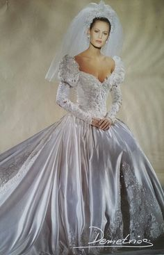 Beautiful Wedding Gowns, Beautiful Dresses, Satin Dresses, Bridal Dresses, Formal Dresses, Antique Wedding Dresses, Perfect Bride, Vintage Bridal, Bridal Style