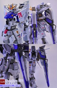 Custom Build: MG 1/100 Gundam F91 [LAST DECISIVE BATTLE] - Gundam Kits Collection News and Reviews