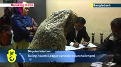 Bangladesh votes amid violence and boycott