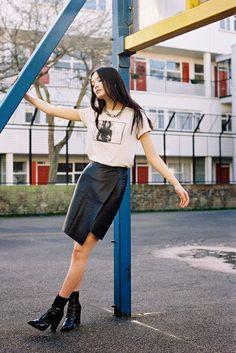 Li Wei @ Premier Model Management via Vanessa Jackman