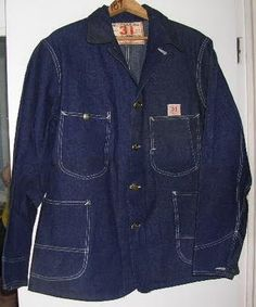 Lot 31J Coverall Jacket, 1930's