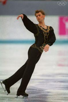 Viktor Petrenko ~ 1992 Olympic Gold Medalist in Men's Figure Skating