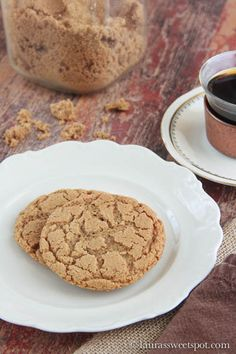 These cookies use ONLY brown sugar as well as brown butter to achieve a rich caramelly taste- SO goooood! Brown Sugar Cookies.