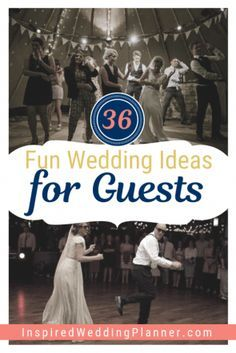 <img> Get ideas for wedding guest games that will entertain your wedding guests at your reception for hours and hours. These wedding guest games are so much fun and entertaining that you guests will remember it for a long time!