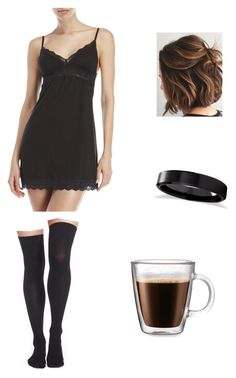 """Sleepless nights"" by beatriz49-2 on Polyvore featuring Cosabella, Allurez, Nordstrom and Frontgate"