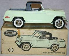 vintage 60's tonka truck catalog | 82: Tonka Jeepster Pickup