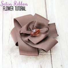 This post contains affiliate links. This post was seen first on What's Cooking with Ruthie I am so excited to share this tutorial with you today! I have a little secret/confession to make. I have known how to make this flower for many years now, but I wasn't quite ready to share my secret until …