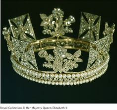 The Diamond Diadem, British Crown Jewels