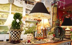 #mackenziechilds #lamps #courtlycheck #ladyfaces #vases #homedecor #ohkays #mcallen #rgv #boutique