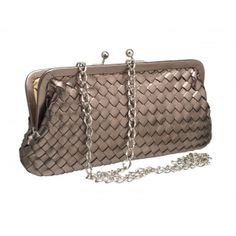 Woven leather clutch bag...£195 from www.luxuryartisan.com