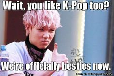 That moment when you find out your not the only crazy K-Pop fangirl