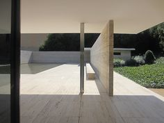 Mies van der Rohe's German Pavilion for the 1929 International Exposition -Barcelona