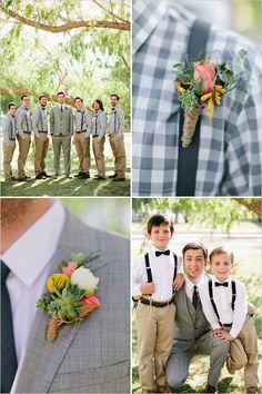 cute groom style