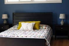 glorious, scrappy Dresdens — Stitched in Color Dresden Quilt, Irish Chain Quilt, Sleeping Porch, Neutral Bedding, Quilting Frames, Large Beds, Bed Frame And Headboard, Hanging Plates, Quilt Sizes