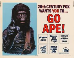 go ape planet of the apes