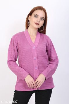 Sweaters BlushhCollection Women Winter Full Sleeve Cardigan (Pack Of 1) Fabric: Wool Sleeve Length: Long Sleeves Multipack: 1 Sizes:  XL (Bust Size: 36 in Length Size: 25 in)  L (Bust Size: 36 in Length Size: 25 in)  M (Bust Size: 36 in Length Size: 25 in) Country of Origin: India Sizes Available: M, L, XL *Proof of Safe Delivery! Click to know on Safety Standards of Delivery Partners- https://ltl.sh/y_nZrAV3  Catalog Rating: ★4 (2403)  Catalog Name: Classy Latest Women Sweaters CatalogID_1967872 C79-SC1026 Code: 892-10710907-