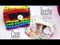 Rainbow Loom - Mäppchen / Beutel / Tasche - YouTube