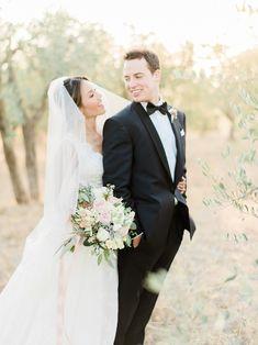 Planner: http://weddingsintuscany.info | Photography: http://www.etherandsmith.com | Florist: http://www.jardindivers.it | Wedding dress: http://www.yolancris.com | Tuxedos: http://theartefact.com/ | Read More: https://www.stylemepretty.com/vault/image/6695836