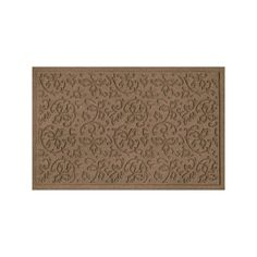 WaterGuard Halcyon Indoor Outdoor Mat, Brown