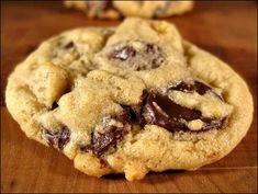 Best Chocolate Chip Cookies Recipe From Scratch: 1 C butter, 1 C sugar, 1/2 C brown sugar, 2 eggs, 2 teaspoons vanilla, 2 1/4 cups flour, 1 teaspoon baking soda, 1/2 teaspoon salt, a 12-oz bag semi-sweet chocolate chips. Preheat oven to 375, cream together butter and sugar, beat in eggs and vanilla. In a separate bowl, combine flour, salt, and baking soda. Gradually beat into butter & sugar mixture, add chocolate chips and stir in. Spoon onto ungreased cookie sheet.  Bake at 375 F for 10…