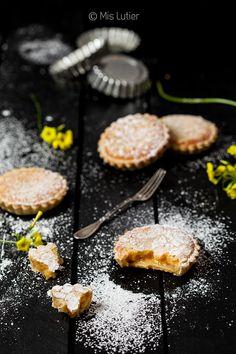 Tartaletas de limón y almendra