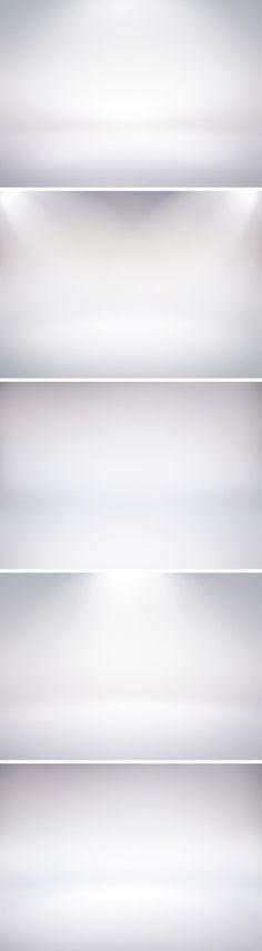 Web Design Freebies — 5 Infinite White Studio Backdrops