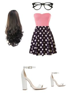 """""""Geekly Chic"""" by sunnysideup-xd on Polyvore featuring Schutz"""