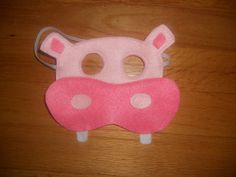 Hippo Mask Animal mask Hungry Hippos by CraftedCreationsKS on Etsy, $5.00